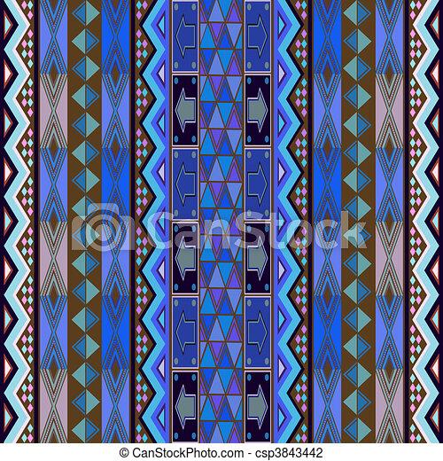 clip art de bleu conception tapis colored texture africaine csp3843442 recherchez. Black Bedroom Furniture Sets. Home Design Ideas