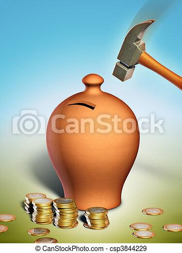 Savings - csp3844229