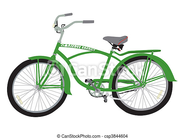 Conserve Energy Bicycle - csp3844604