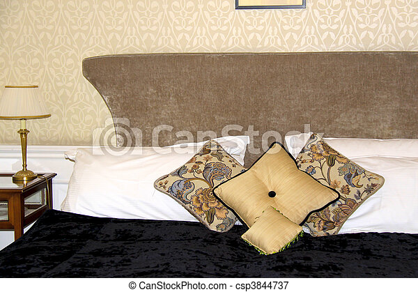 Typical hotel room - deluxe - csp3844737