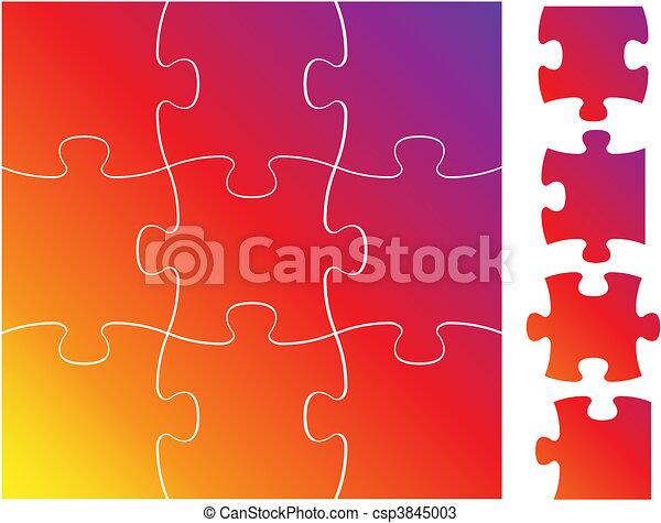 Complete puzzle / jigsaw set - csp3845003