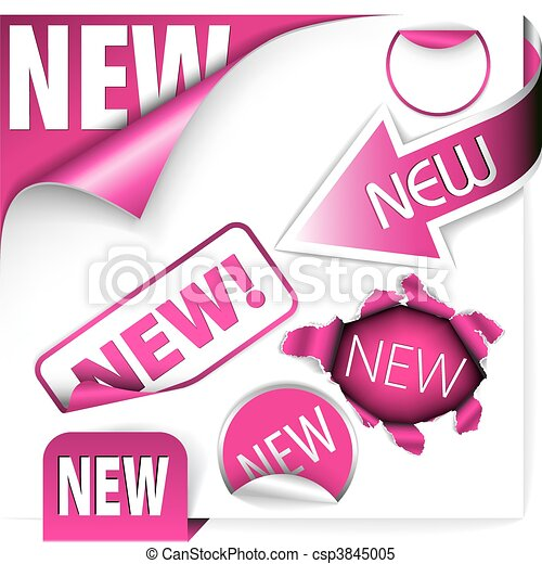 New Item Clipart