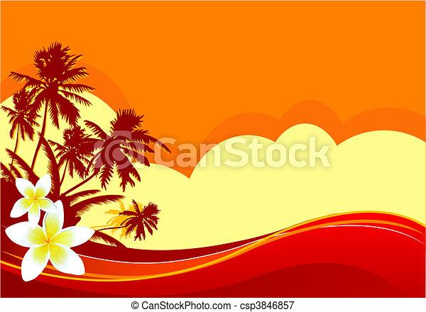 Summer vacation - csp3846857