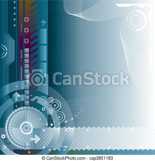 Technology Background - csp3851183