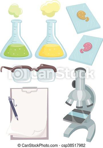 ciencia, elementos, laboratorio - csp38517982