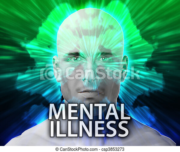 Male psychiatric mental illness  - csp3853273
