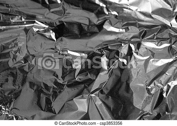 background texture of bent textured metal - csp3853356