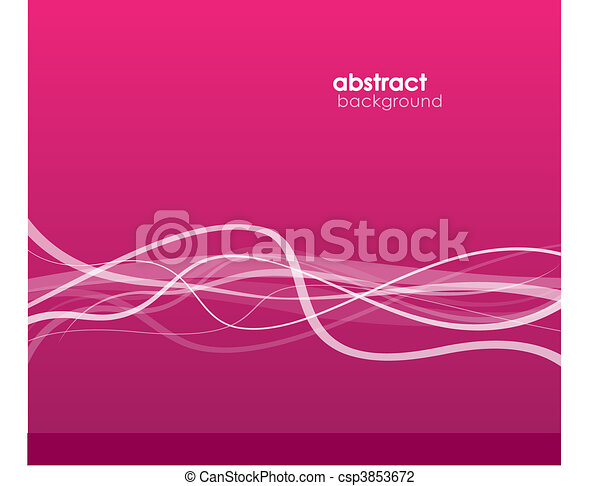 Abstract background with lines. - csp3853672