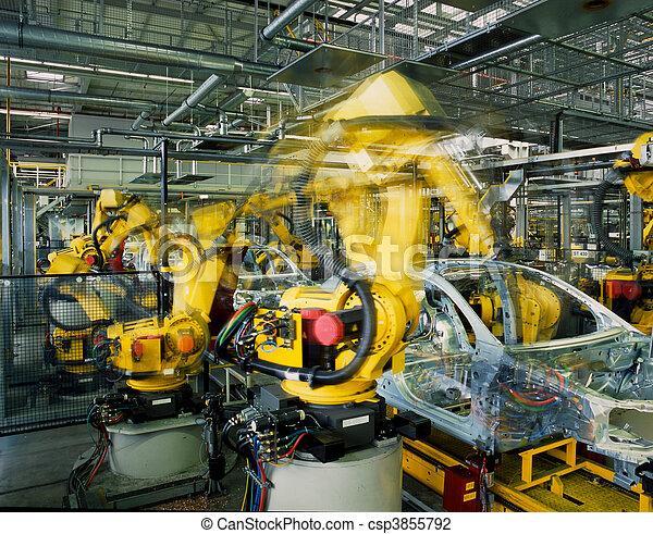 car production line  - csp3855792