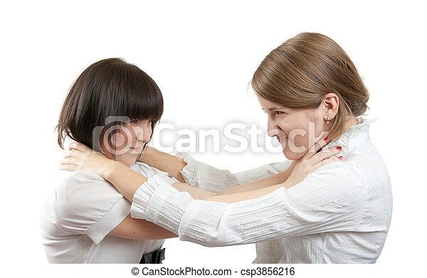 female rivalry - csp3856216