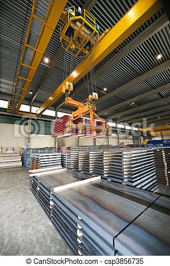 Handling Steel - csp3856735