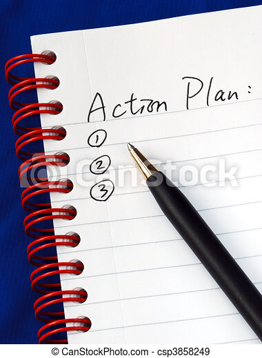 Prepare the action plan  - csp3858249