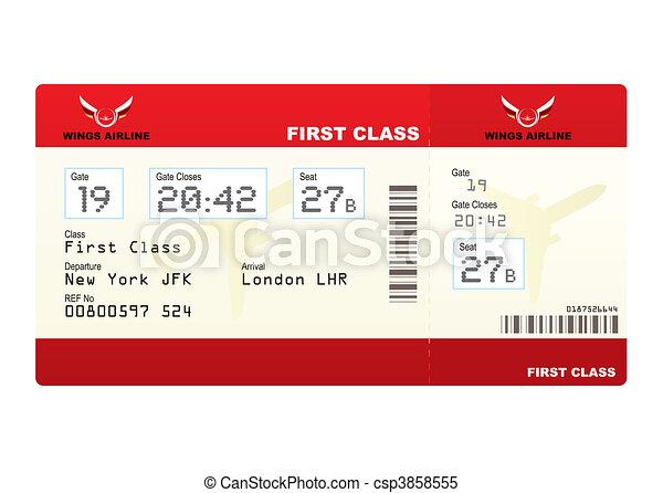 plane tickets first class - csp3858555