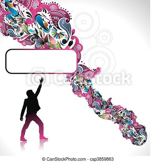 successful business man - csp3859863