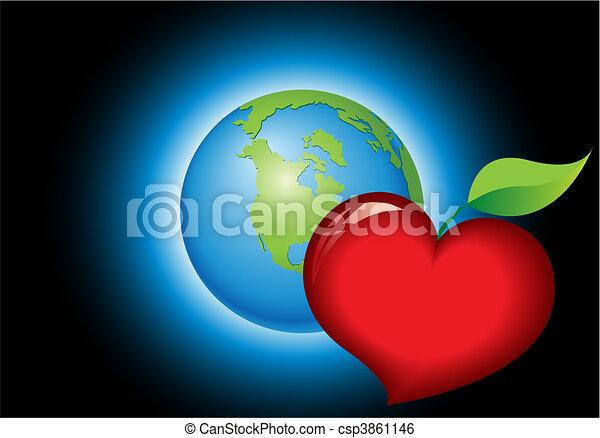 Eco Planet theme - csp3861146