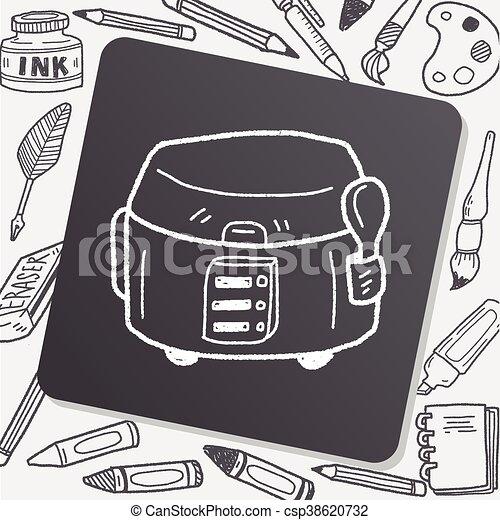 cooker doodle - csp38620732