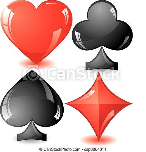 Card Suit - csp3864811
