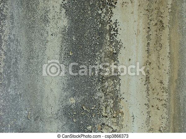 stock foto dreckige getragen gelber graue wei es brauner wand mit sporne schimmel. Black Bedroom Furniture Sets. Home Design Ideas
