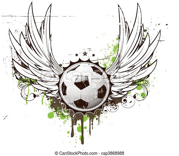 football insignia - csp3868988