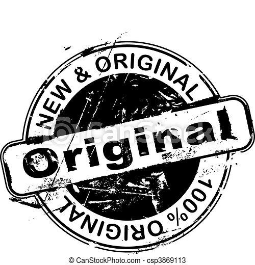 Rubber Stamp Original - csp3869113