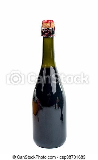 Champagne cork close up - csp38701683
