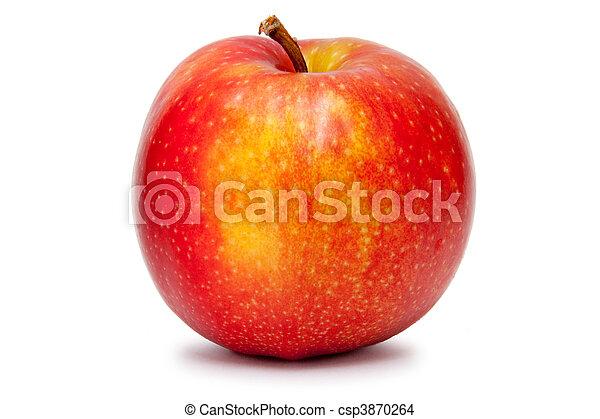 Big red apple - csp3870264