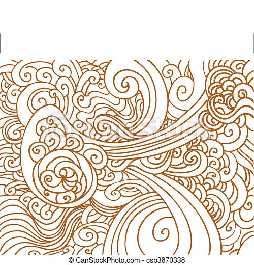 Abstract Chaos Background - csp3870338