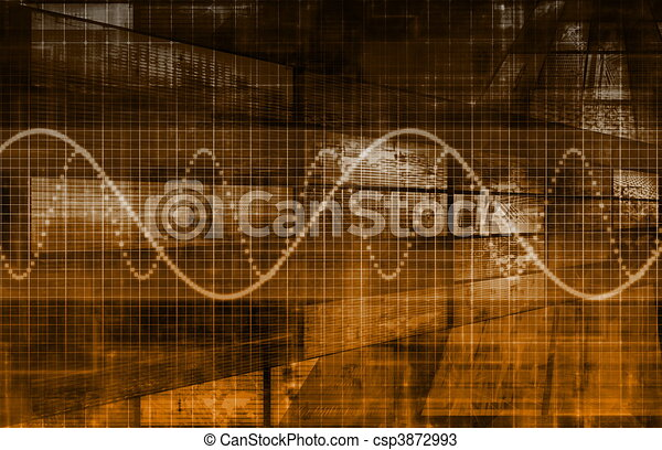 Telecommunications Industry Global Network - csp3872993