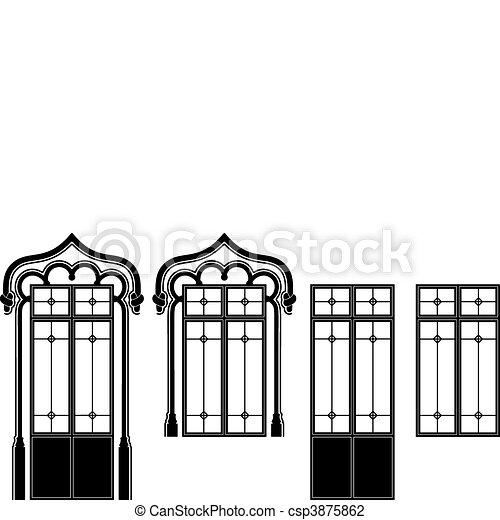 Window and door-window - csp3875862