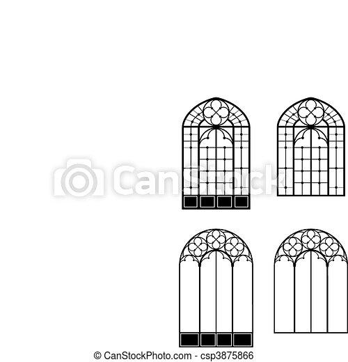 Windows and door-windows - csp3875866