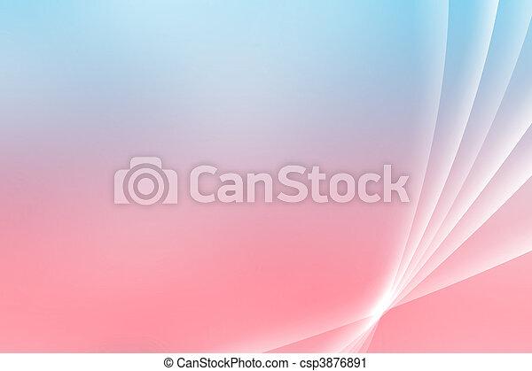 Blue Pink Soothing Vista Curves - csp3876891