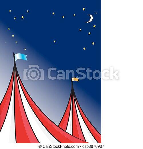 Circus tent - csp3876987