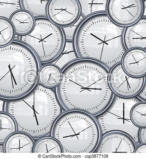 clocks and time background - csp3877109