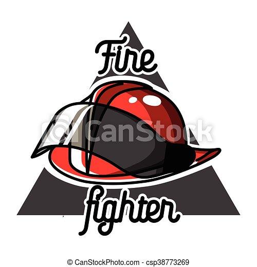 Worksheet. Clip Art de vectores de color vendimia emblemas bombero  Color