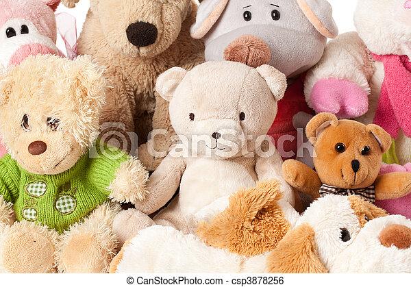 stuffed animals - csp3878256