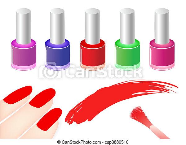 nail polish - csp3880510