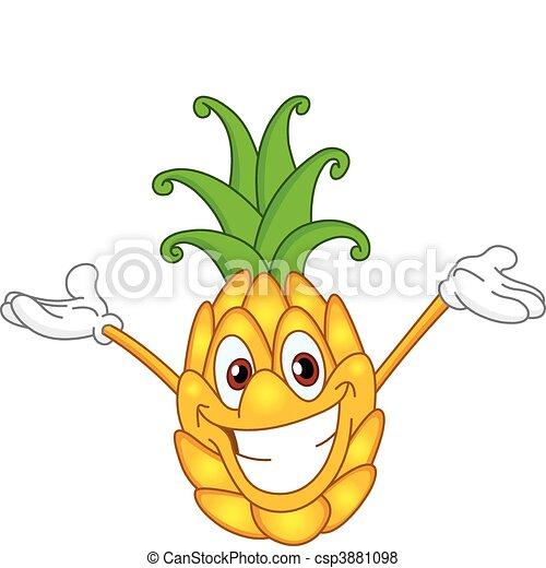 Pineapple - csp3881098