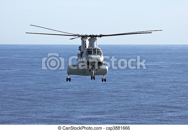 CH-46E Marine Corps Helicopter - csp3881666