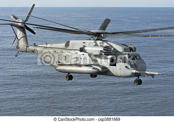 CH-53E Marine Corps Helicopter - csp3881669