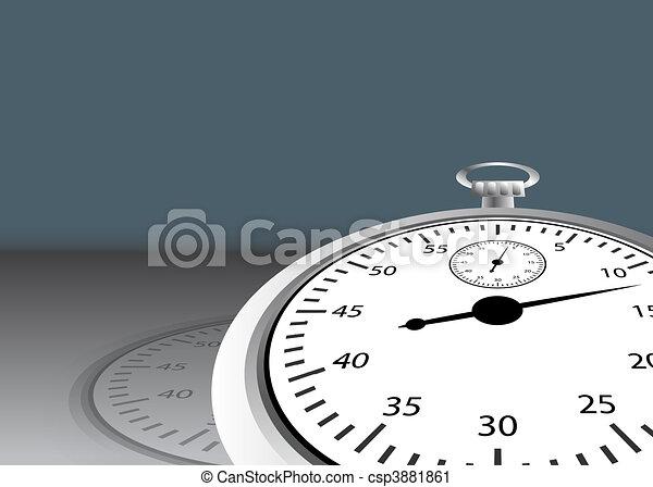 Angled Stopwatch - csp3881861
