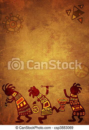 African national patterns - csp3883069