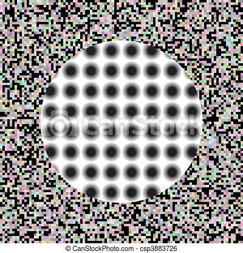 Vector - optic illusion - csp3883726