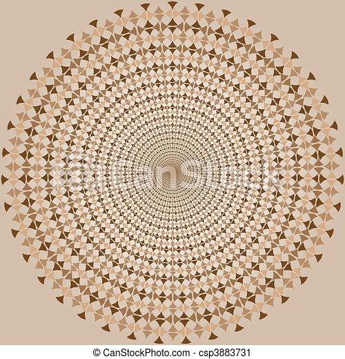 Vector - optic illusion - csp3883731
