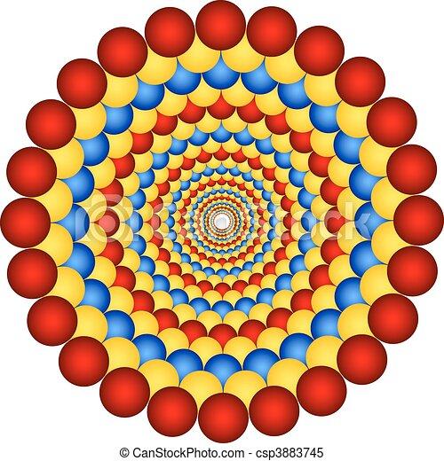 optic illusion - csp3883745