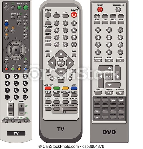 Remote Control  - csp3884378