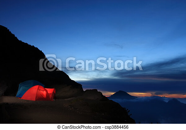 Outdoor adventure camping - csp3884456