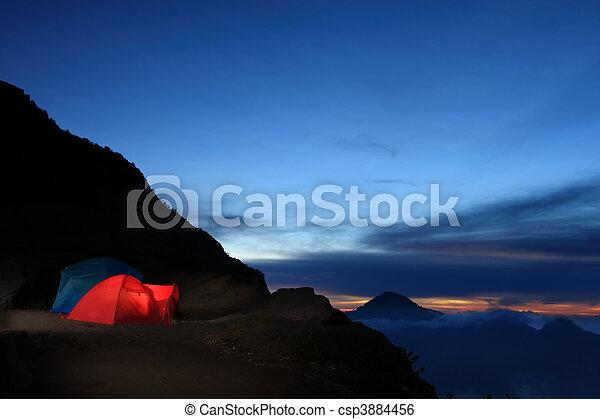 Outdoor adventure camping - csp3884456