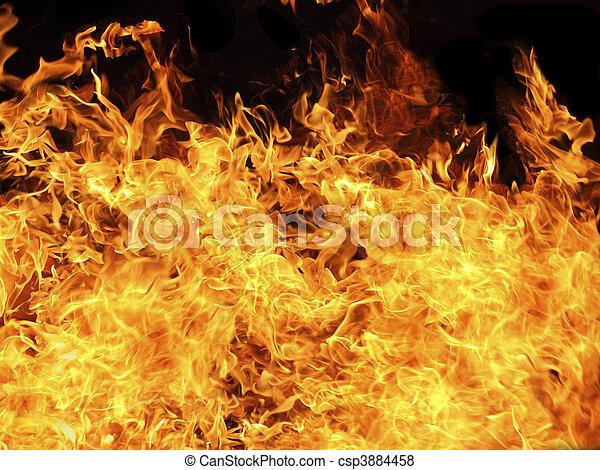 flames - csp3884458