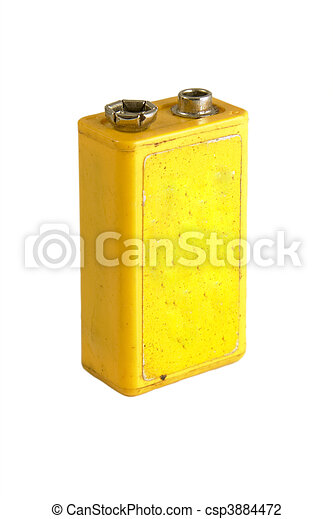 9 volt battery - csp3884472
