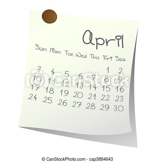 April 2011 - csp3884643